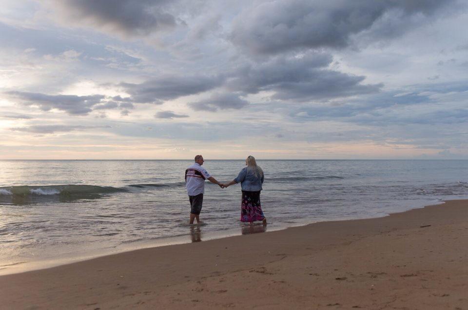 Hochzeitsbilder in Thailand??? Paarshooting am Strand???